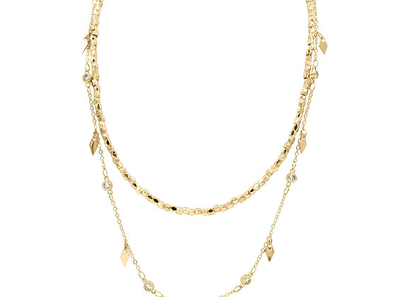 2 Layered Goddess Collection Necklace