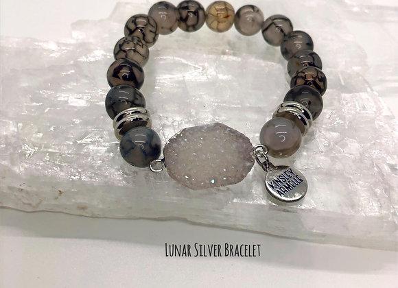 Lunar Silver Bracelet