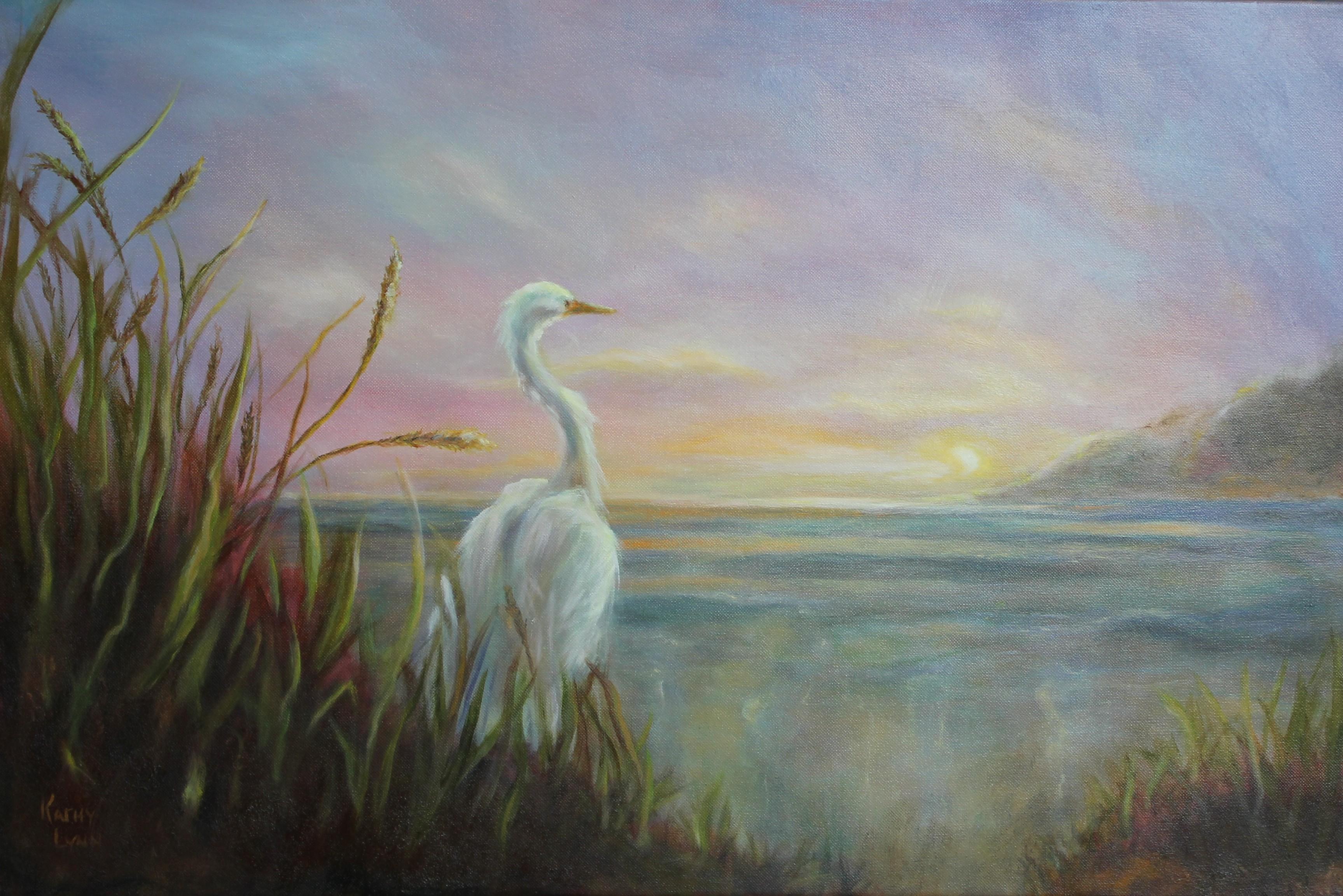 High Tide  Heron