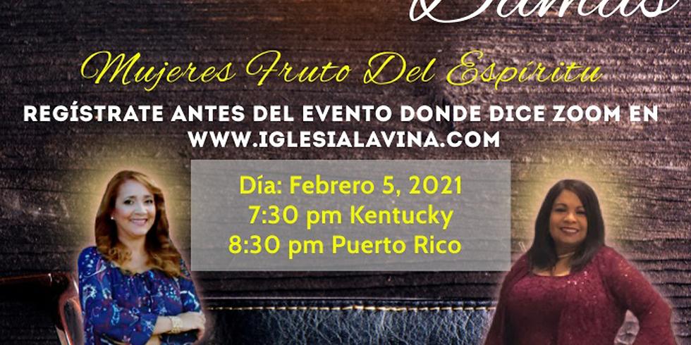 Koinonia de Damas 2-5-2021 - Salmista Madeline Cotto – Caguas, Puerto Rico