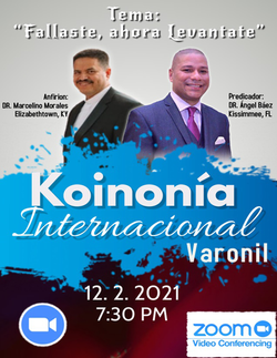 Koinonía 12-2-2021 - Rev. Dr. Ángel Báez – Kissimmee, Florida