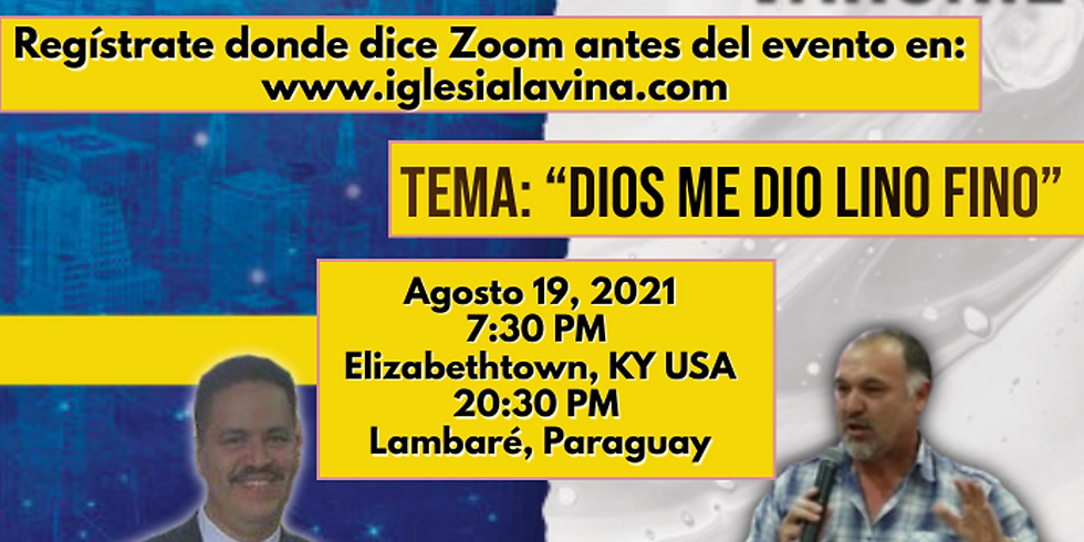 Koinonía Internacional Varonil – Pastor Carlos Sanabria - Lambare, Paraguay