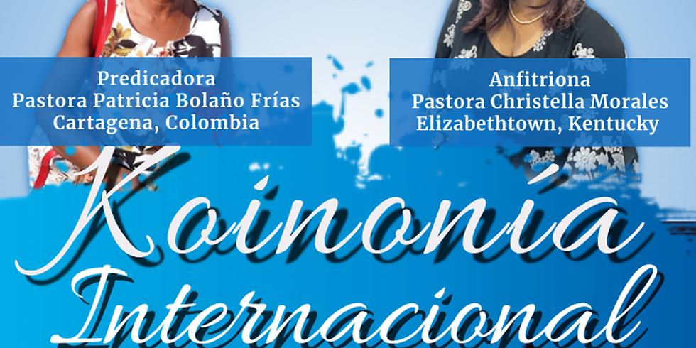 Koinonía Internacional de Damas – Pastora Patricia Bolaño Frías - Cartagena, Colombia