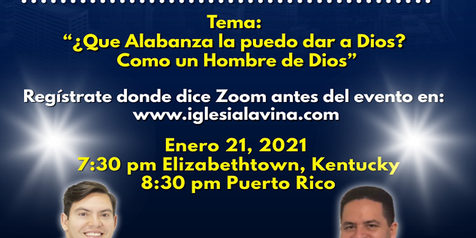 Koinonía Internacional Varonil – Salmista Jerry Marzan - Bayamón, Puerto Rico