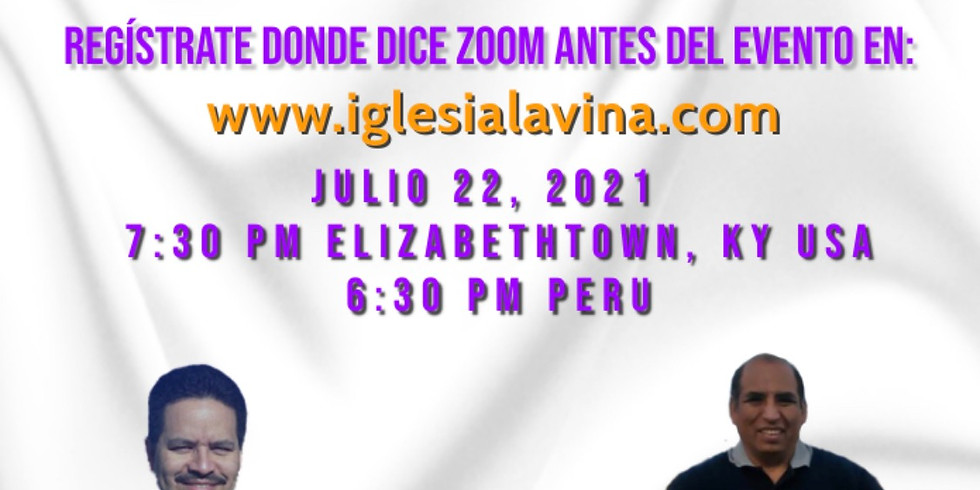 Koinonía Internacional Varonil – Pastor Gilmer Mucha Meza desde Peru