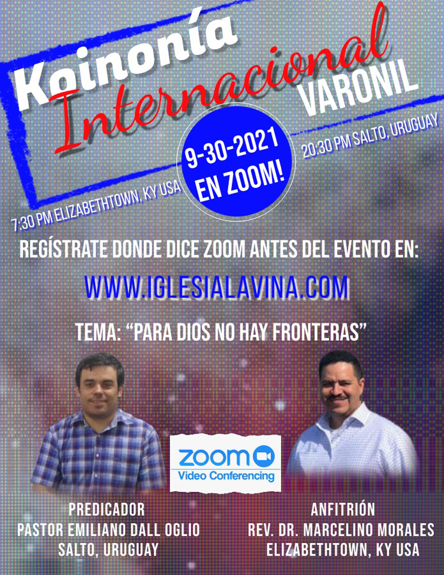 Koinonía 9-30-2021 - Pastor Emiliano Dal
