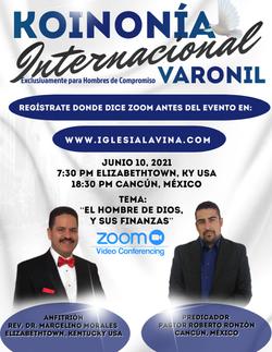 Koinonía 6-10-2021 - Pastor Roberto Ronz