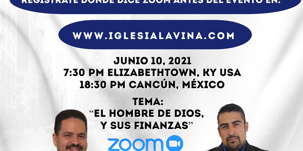 Koinonía Internacional Varonil – Pastor Roberto Ronzon - Cancún, México