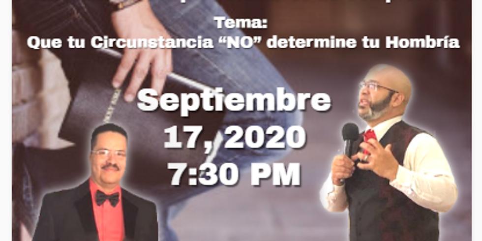 Koinonía Internacional Varonil – Pastor David Jonathan Camacho desde Caguas, Puerto Rico