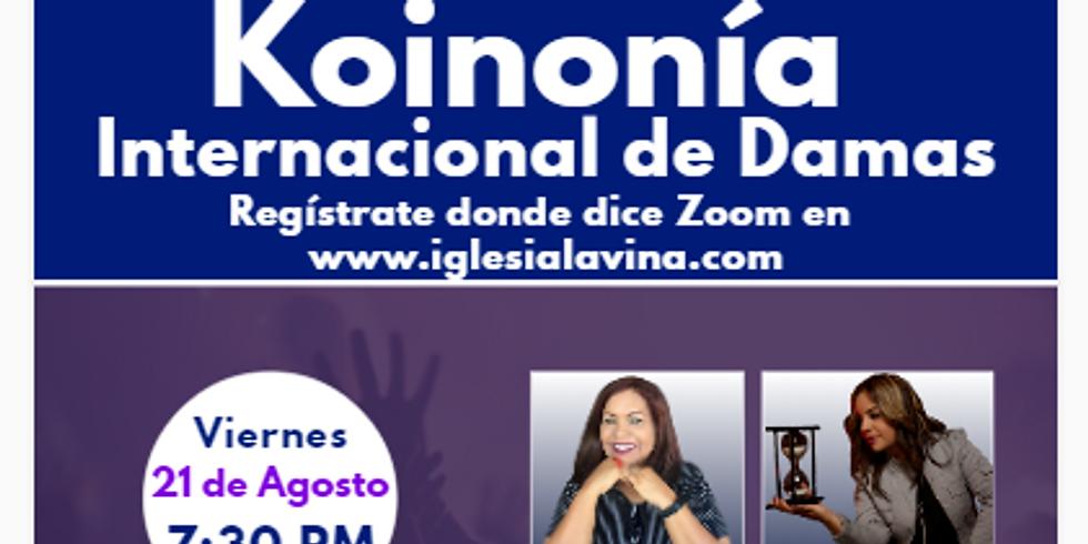 Koinonía Internacional de Damas – Salmista Glenda (Gliz) Maysonet