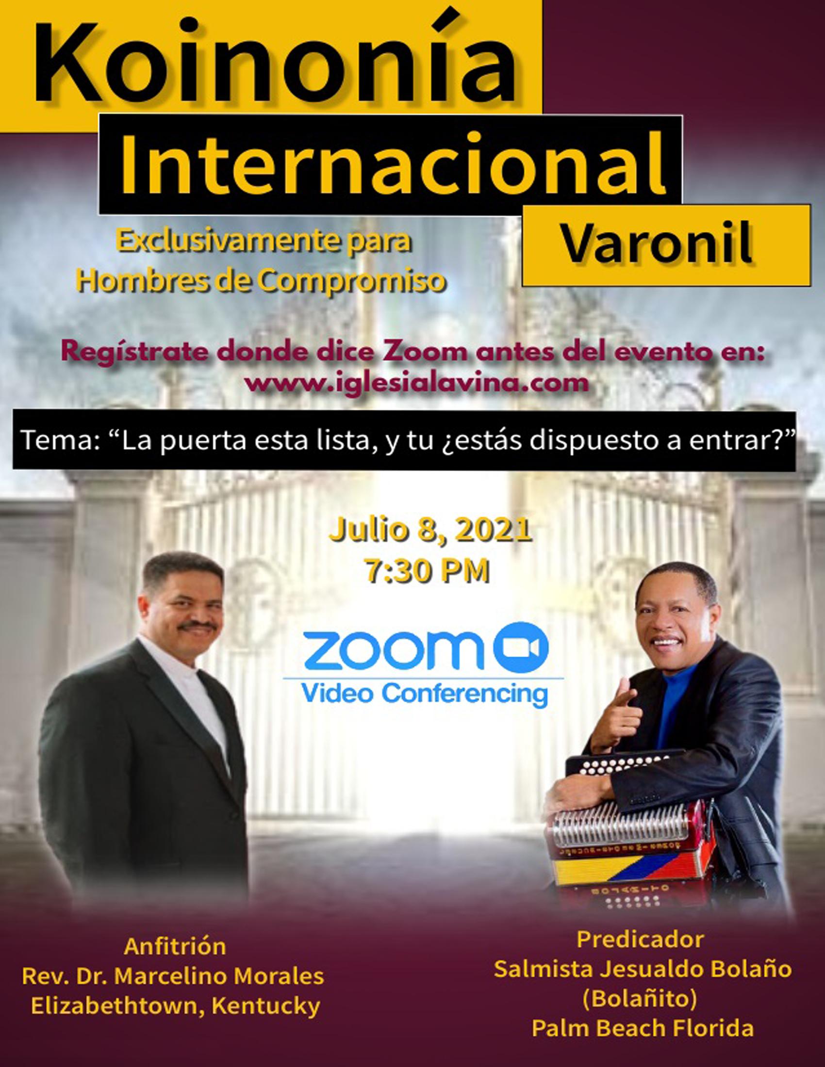 Koinonía 8-5-2021 - Jesualdo Bolaño (Bol