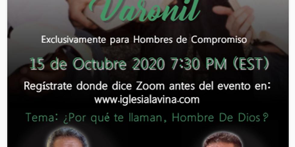Koinonía Internacional Varonil – Pastor Rubisel Perez Ligonio desde Comalcalco México