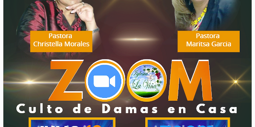 Culto de Damas en Casa – Pastora Maritza García
