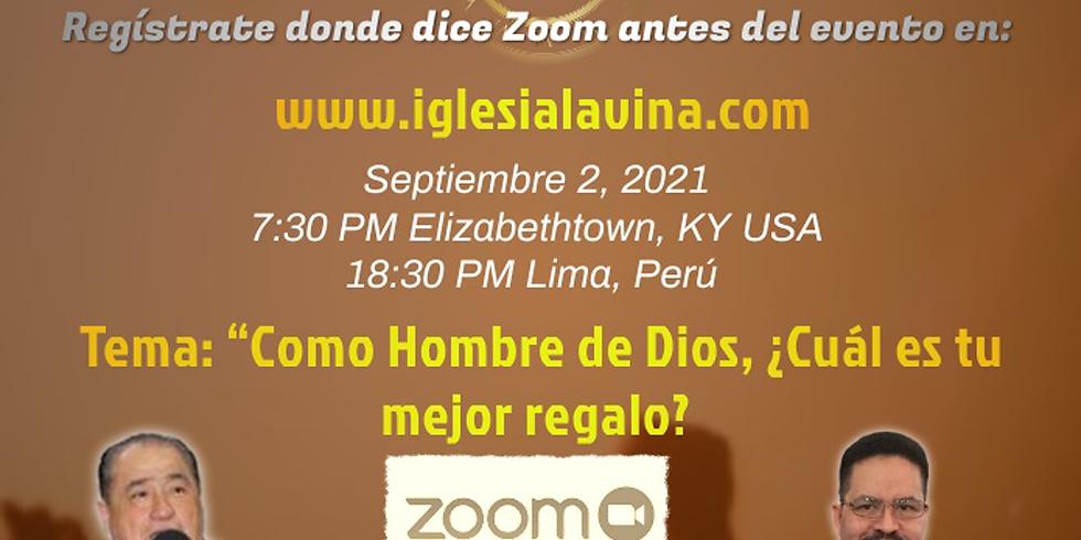 Koinonía Internacional Varonil – Pastor Ricardo Zuñiga Bernazzi - Lima, Peru