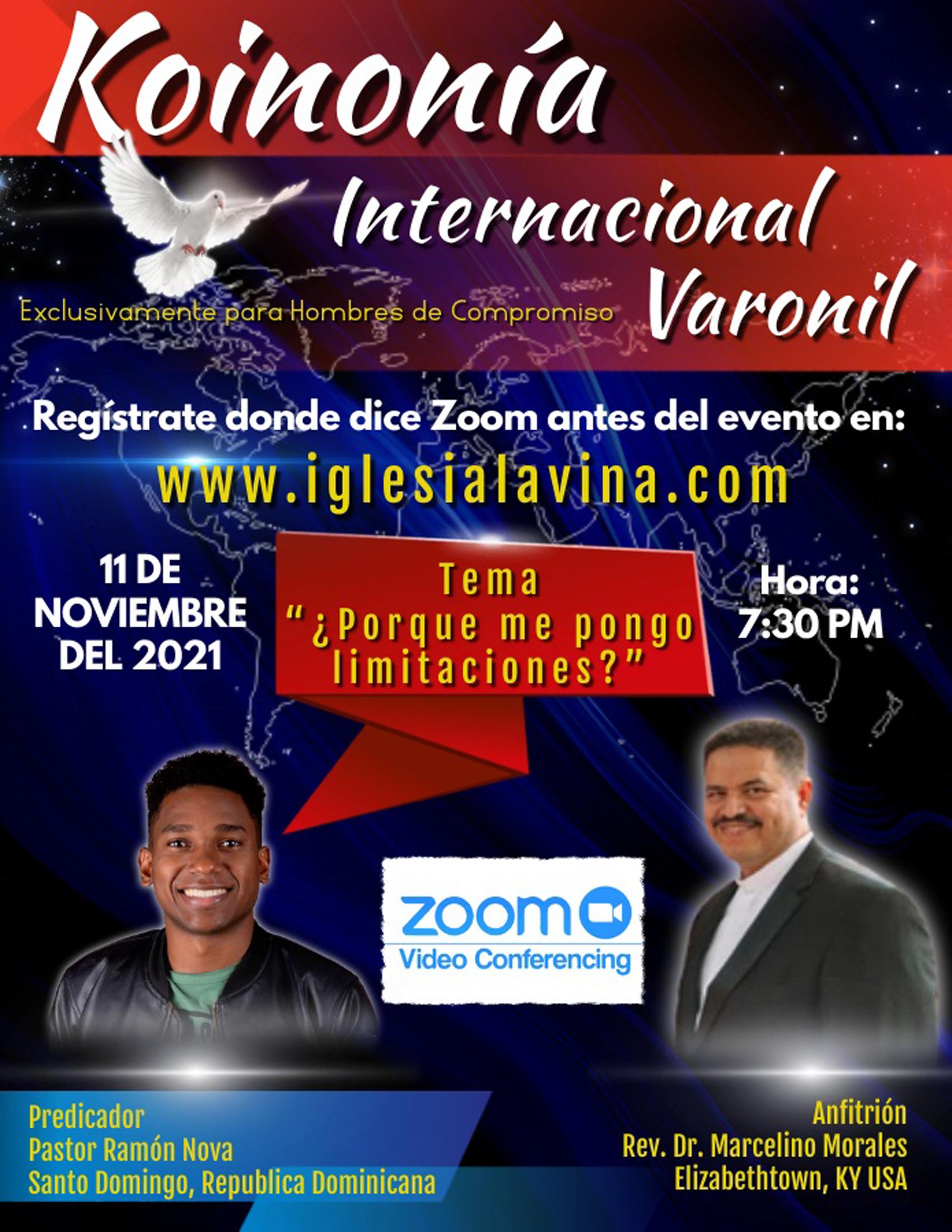 Koinonía 11-11-2021 - Pastor Ramón Nova