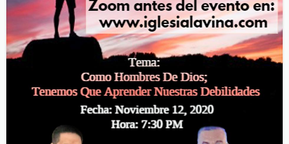 Koinonía Internacional Varonil – Pastor Salomon Zabaleta - Barranquilla Colombia