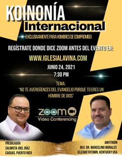 Koinonía 6-24-2021 - Salmista Joel Díaz