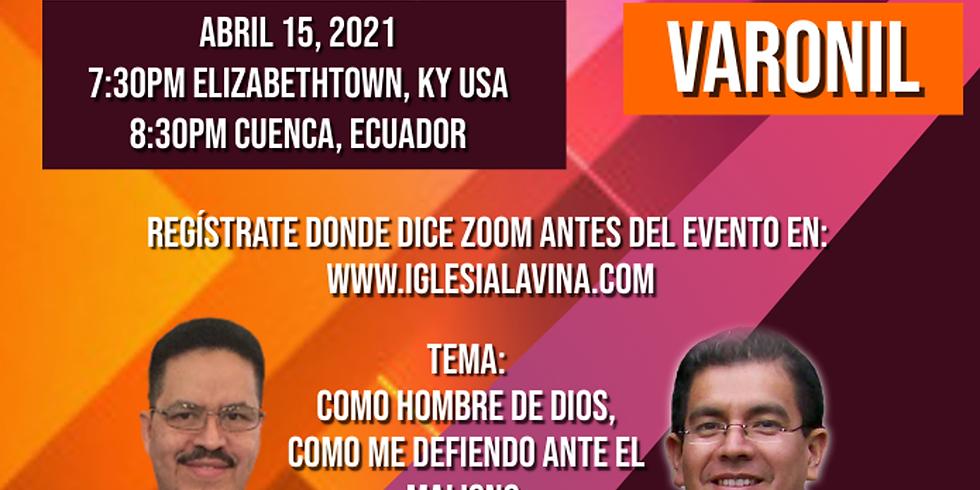 Koinonía Internacional Varonil – Pastor Luis Ureña - Cuenca, Ecuador