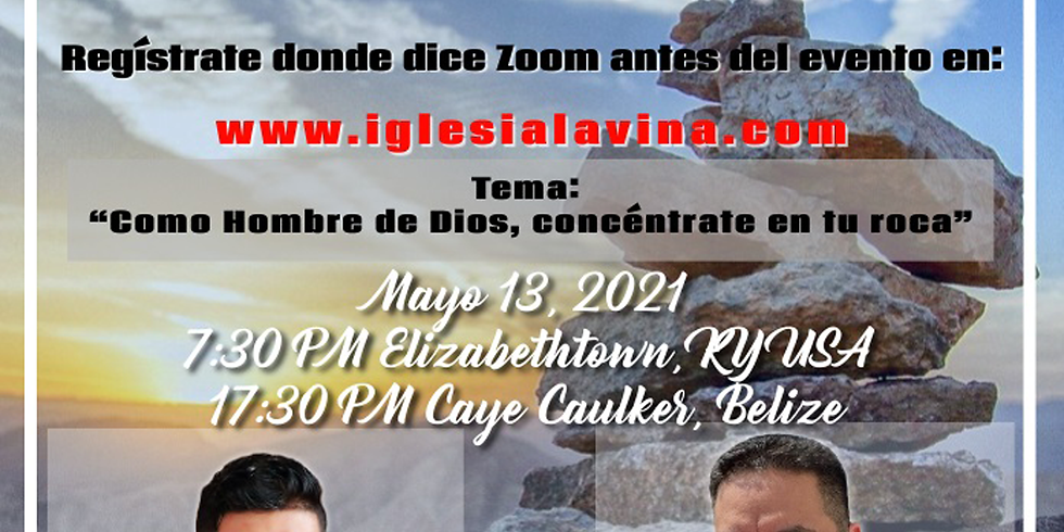 Koinonía Internacional Varonil – Pastor Ronald Escobar (Lamaliec Stanley) - Caye Caulker, Belize