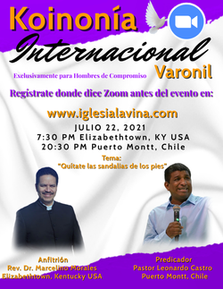 Koinonía 7-22-2021 - Pastor Leonardo Cas