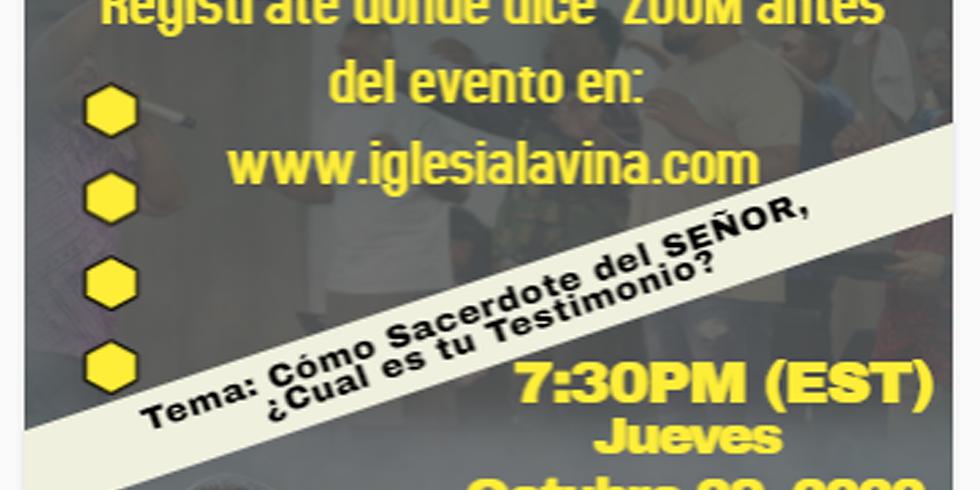 Koinonía Internacional Varonil – Pastor Luis Ureña desde Cuenca, Ecuador