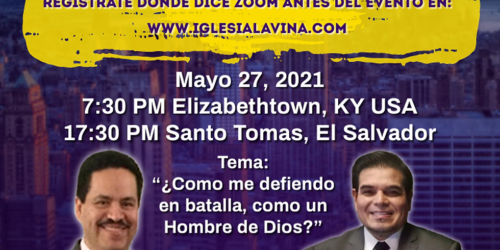Koinonía Internacional Varonil – Pastor Oscar Alberto Flores - Santo Tomas, El Salvador