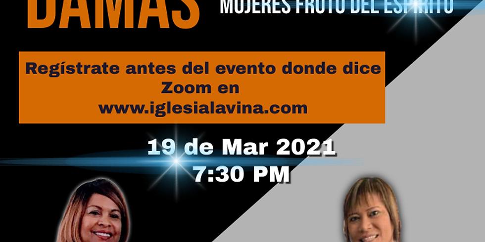 Koinonía Internacional de Damas – Pastora Dorcas Ruperto – Caguas, Puerto Rico