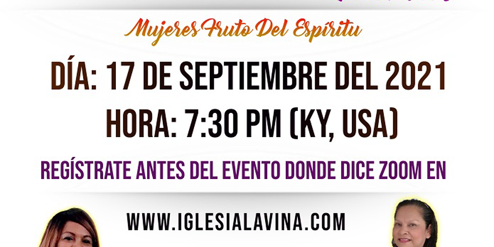 Koinonía Internacional de Damas – Pastora Lucy Calvo – Matamoros, México