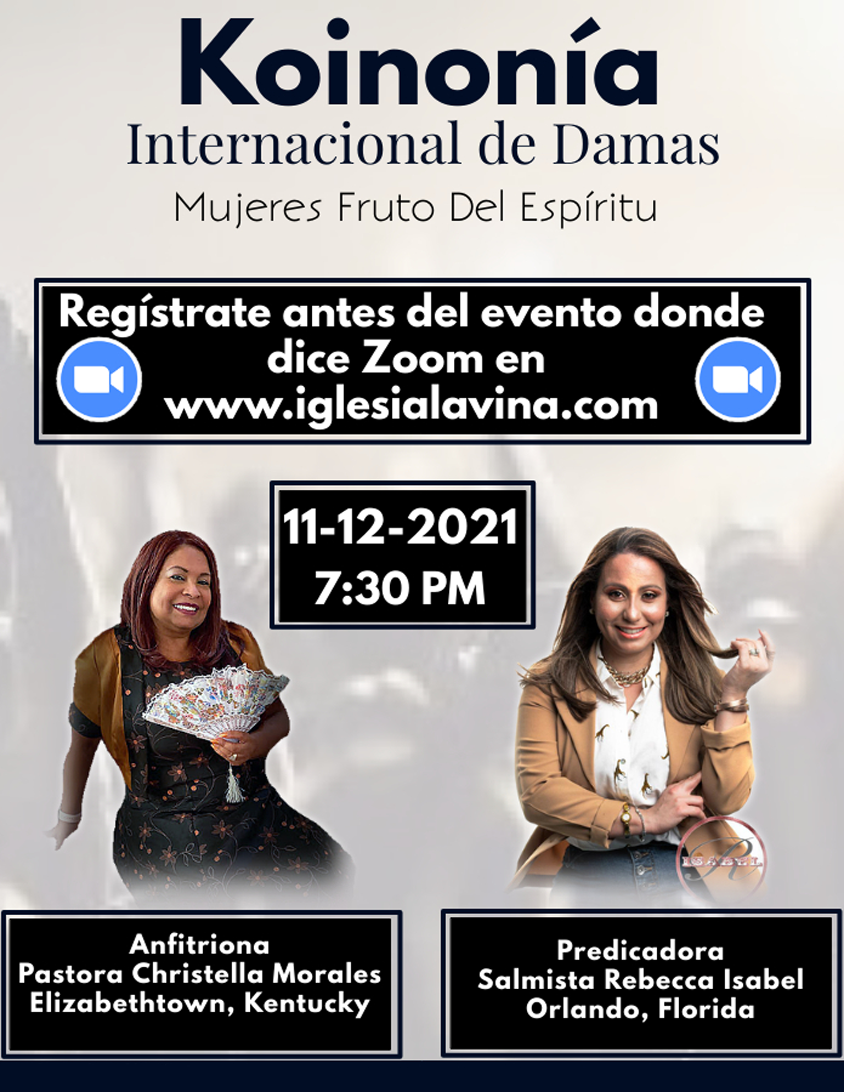 Koinonia de Damas 11-12-2021 Salmista Re