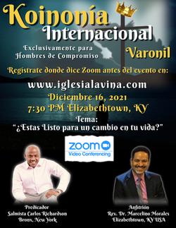 Koinonía 12-16-2021 - Salmista Carlos Ri
