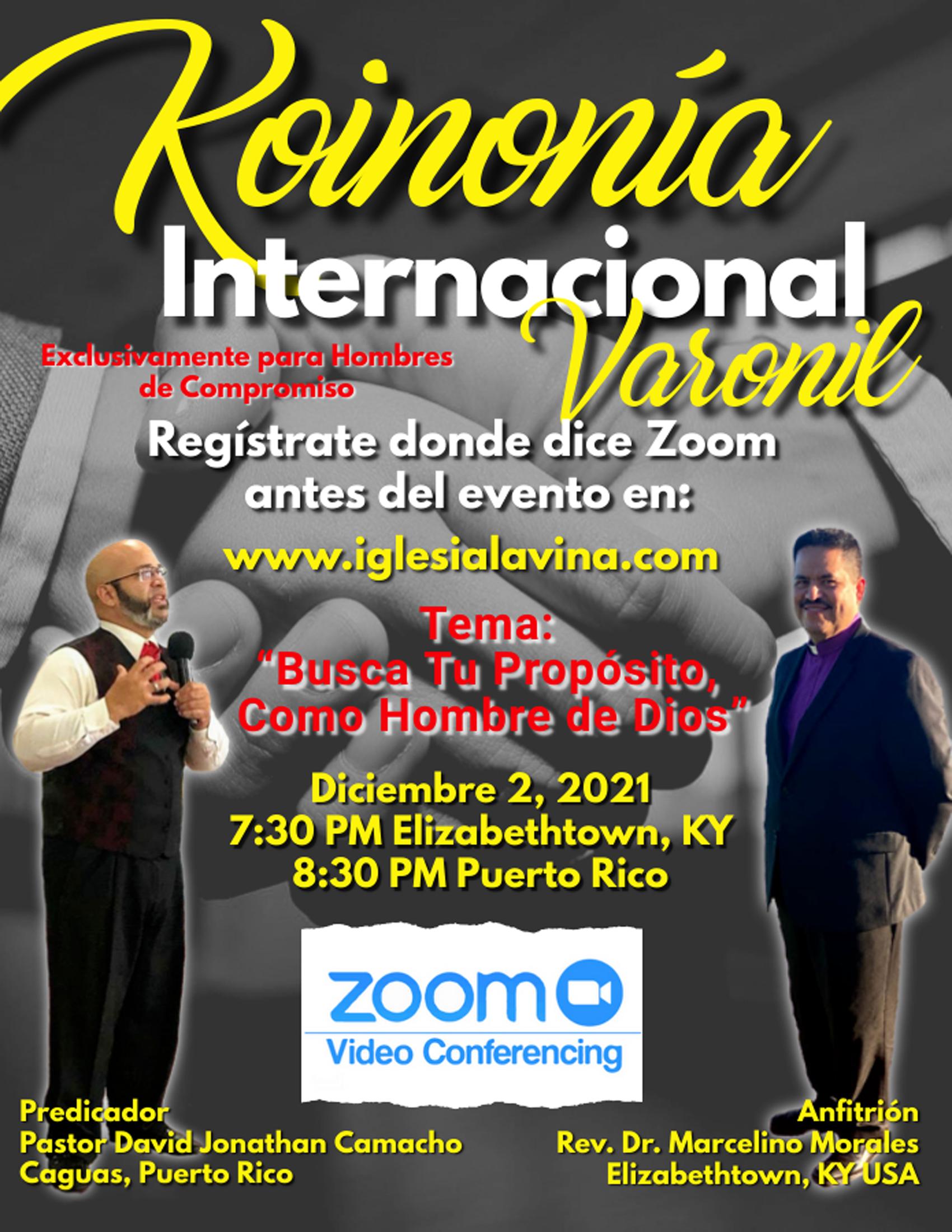 Koinonía 12-2-2021 - Pastor David Jonath