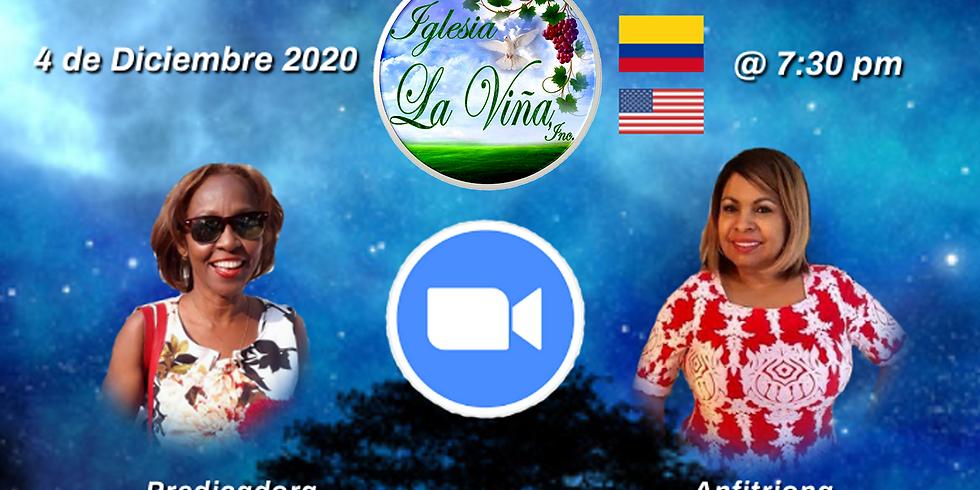 Koinonía Internacional de Damas – Pastora Patricia Bolaño Frías – Cartagena, Colombia