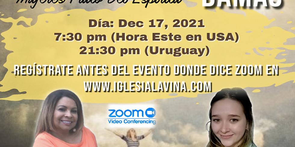 Koinonía Internacional de Damas – Pastora Ximena Garro - Salto, Uruguay