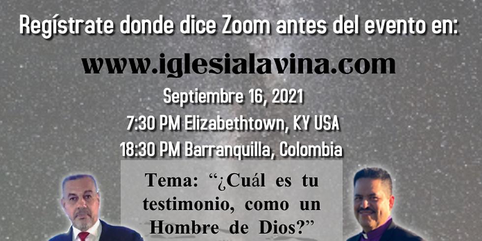 Koinonía Internacional Varonil – Pastor Salomón Zalebeta - Barranquilla, Colombia
