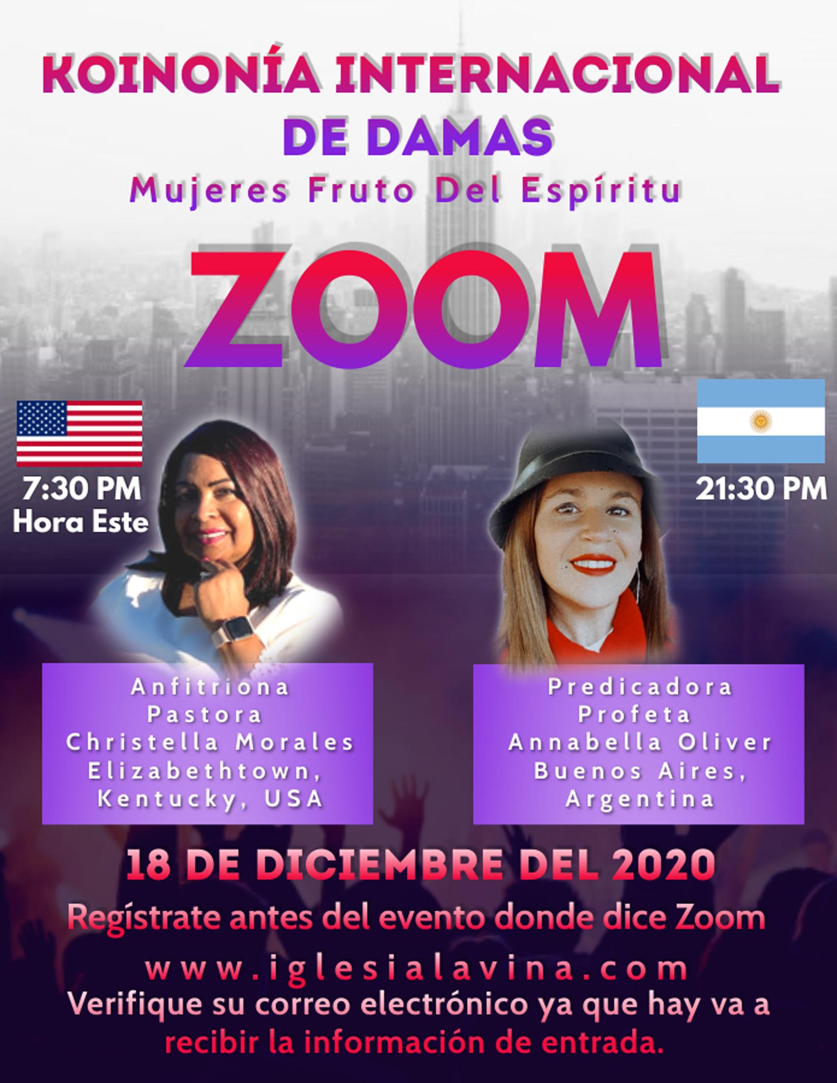 Koinonia de Damas 12-18-2020 Profeta Ann