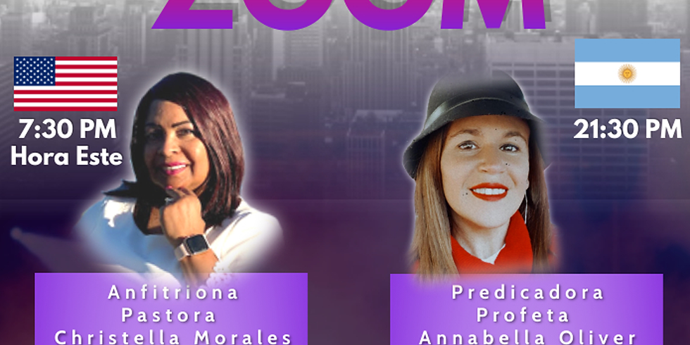 Koinonía Internacional de Damas – Profeta Annabella Oliver Buenos Aires, Argentina