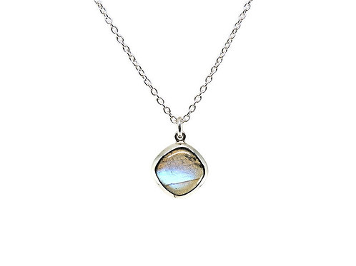 Square Labradorite Necklace by Stephen Estelle
