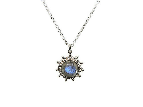 Starburst Labradorite Necklace by Stephen Estelle