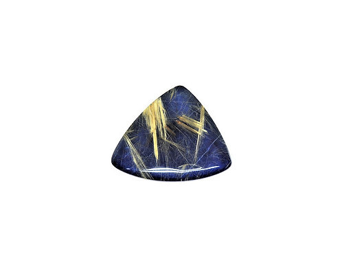 Rutilated Quartz Lapis