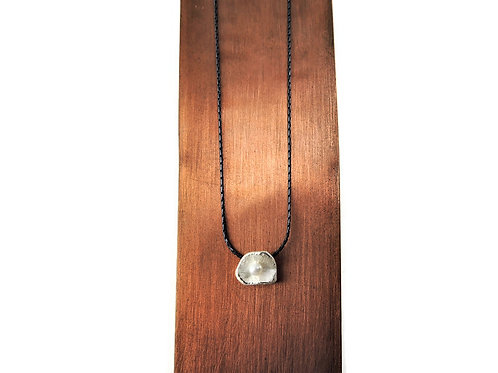 Sterling Silver and Pearl Pendant by Mysterium
