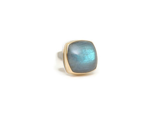 Labradorite Ring by Linda Blumel