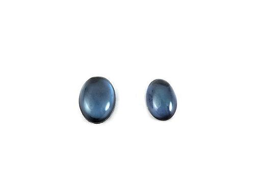 Oval Blue Star Quartz Cabochons