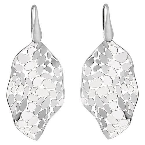 Mosaic Leaf Earrings