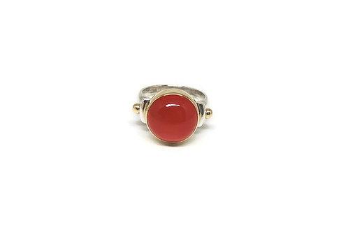 Carnelian ring by Linda Blumel