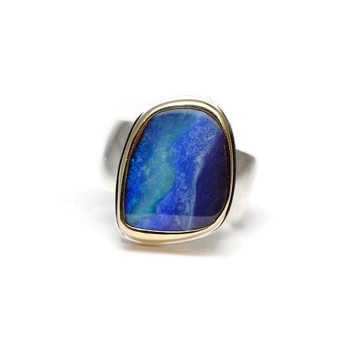 Australian Opal Ring by Linda Blumel