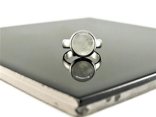 Round Moonstone Ring by Stephen Estelle