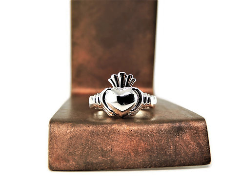 Sterling Silver Claddagh Ring Large