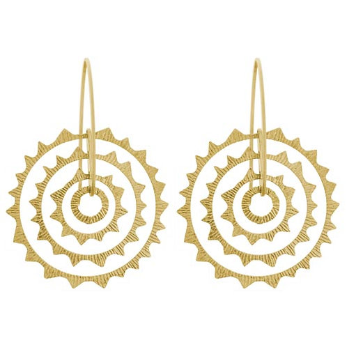 Soiell Circle Drop Earrings
