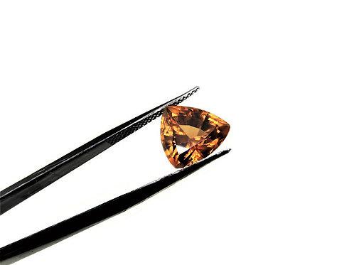 Trillion Cut Orange Zircon