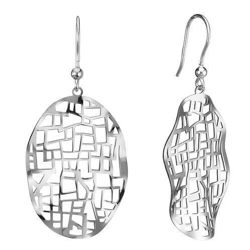 Geometric Cutout Earrings